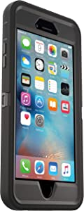 OtterBox Defender Series for iPhone 6s and iPhone 6 (NOT Plus) Case only/No Holster - Non-Retail Packaging - Black