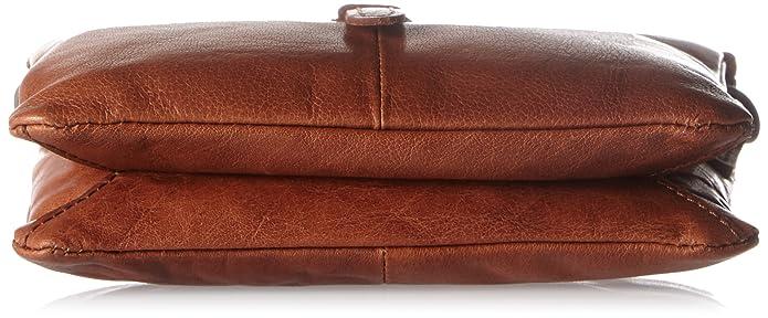 Spikes & Sparrow - Clutch, Carteras de mano Mujer, Braun (Brandy), 5x14x19 cm (B x H T): Amazon.es: Zapatos y complementos