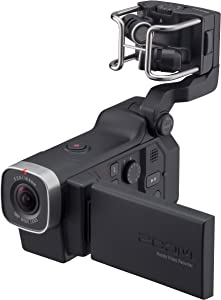 Zoom Q8 Handy Video Recorder, 3M High Definition Video,Stereo Microphones Plus Two XLR/TRS Combo Inputs, Four Tracks of Audio Recording, for Recording, Music, Video, Youtube Videos, Livestreaming,Black