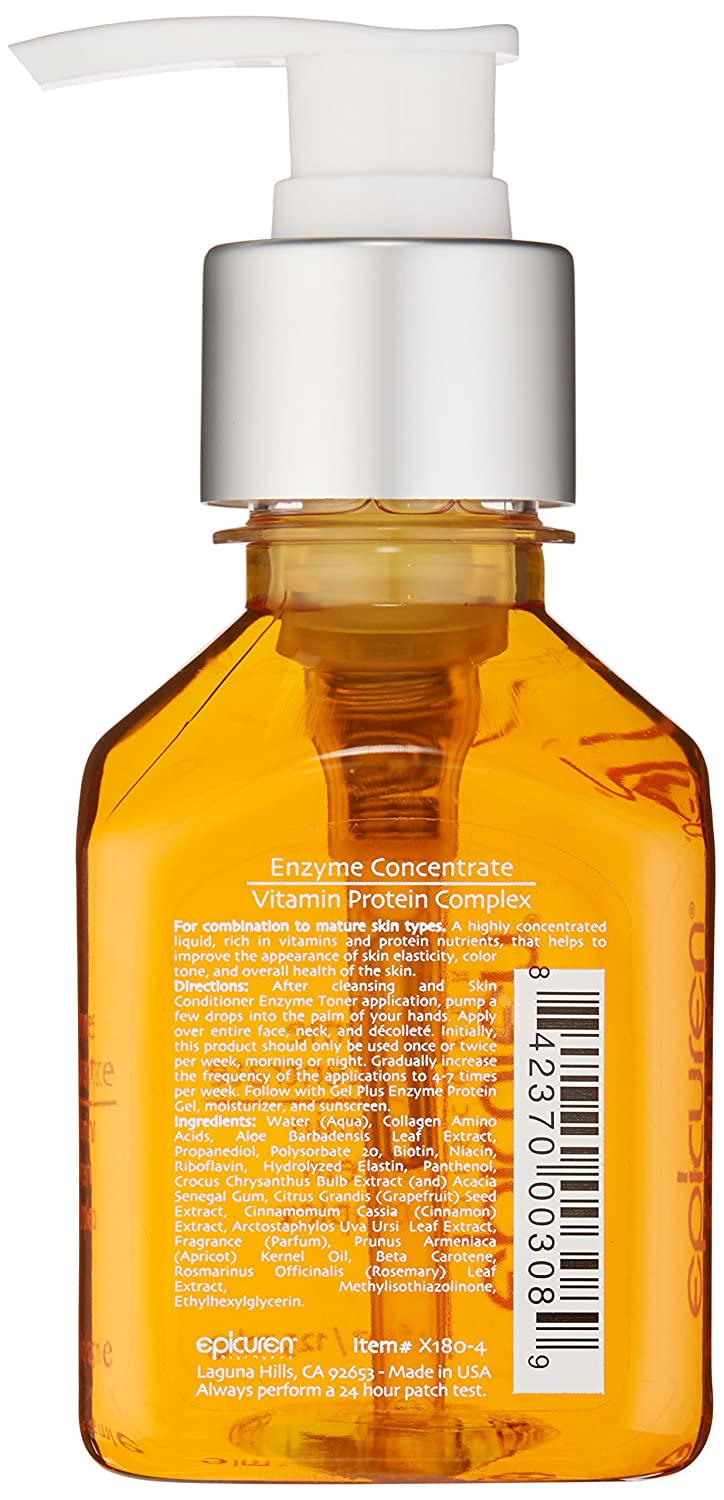 Amazon.com: Epicuren Discovery Enzyme Concentrate Vitamin Protein Complex, 4 oz.: Luxury Beauty