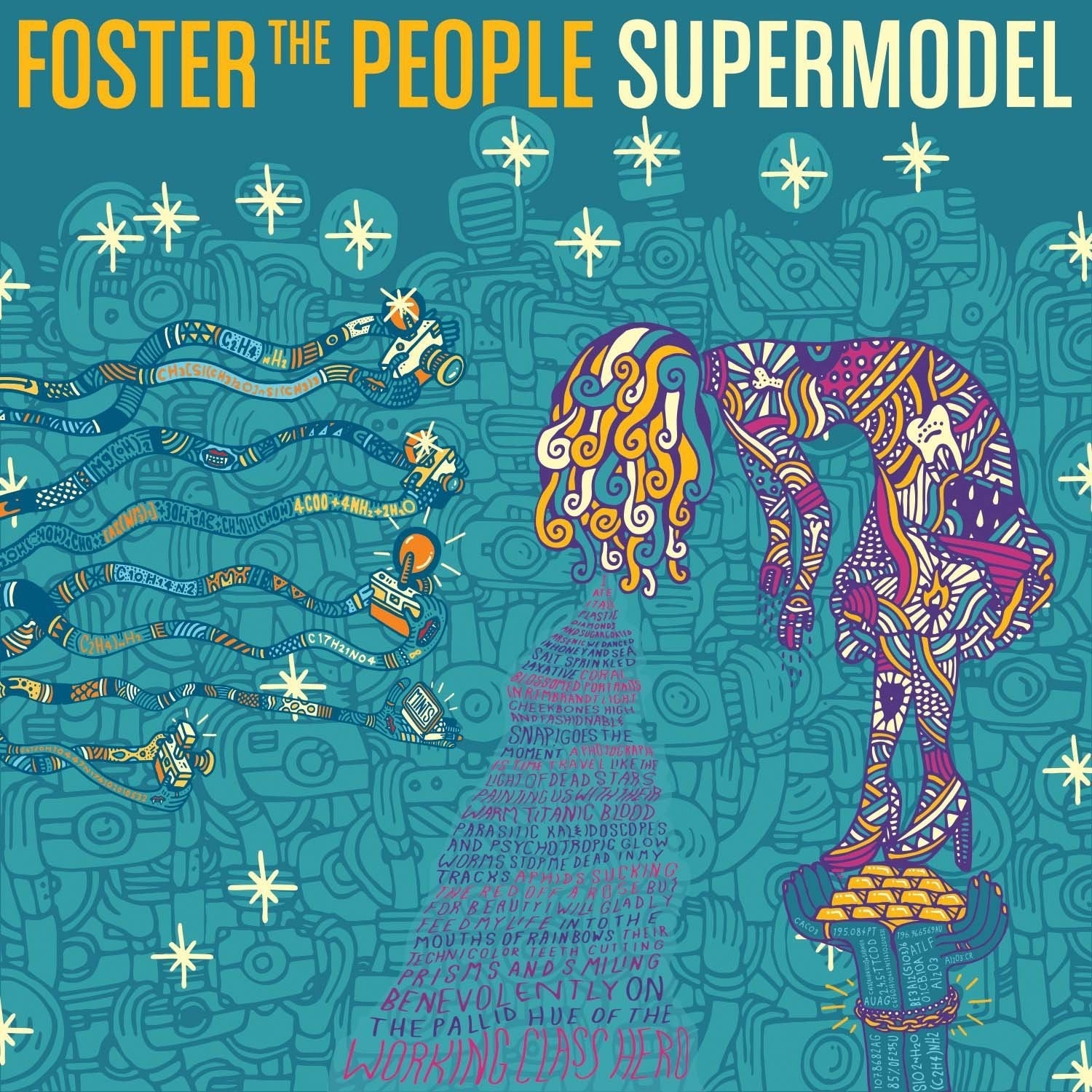 Vinilo : Foster the People - Supermodel (LP Vinyl)