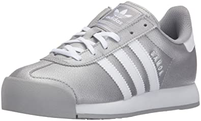 premium selection bf3d2 80271 adidas Originals Boys u0027 Samoa J Skate Shoe, Mid Grey White Mid Grey S ..
