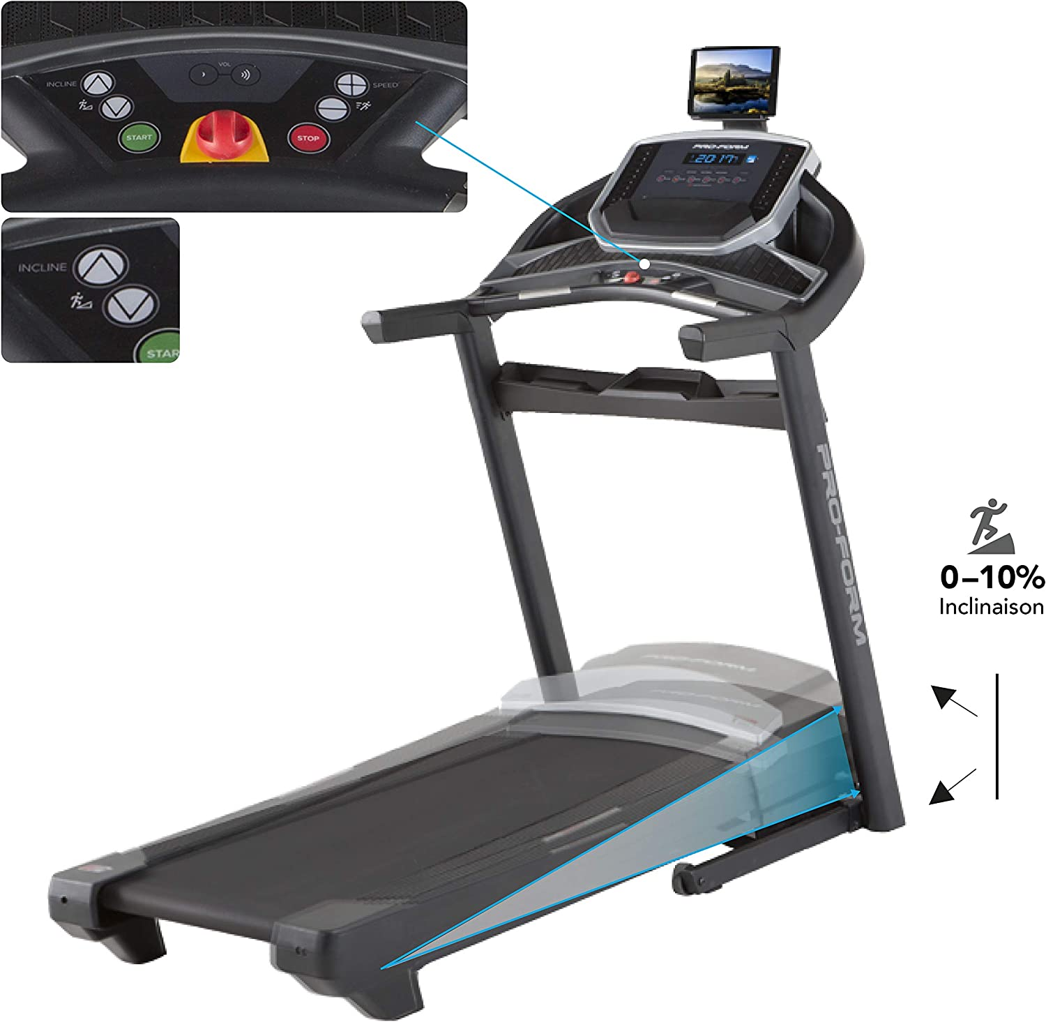 ProForm - Cinta De Correr Power 575I: Amazon.es: Deportes y aire libre