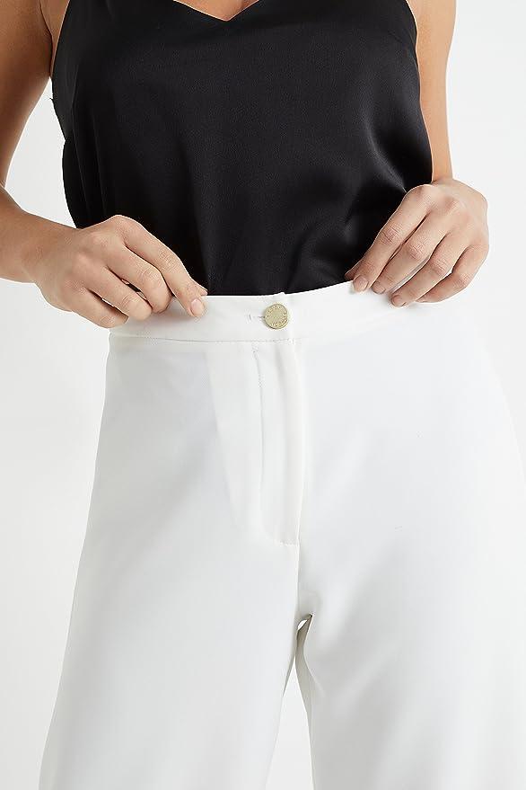 Lipsy Femme Short Jupe-Culotte Boutonné Blanc EU 46 (UK 18)  Amazon.fr  Vêtements  et accessoires 38a3c96d32f