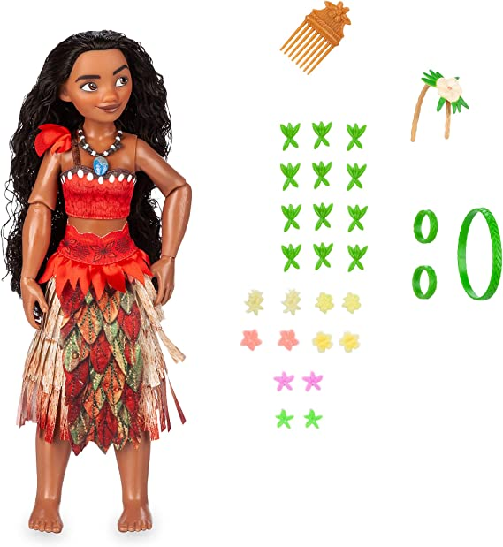 NEW Disney Princess Moana Classic Doll 11 Inches Poseable Plastic USA Seller