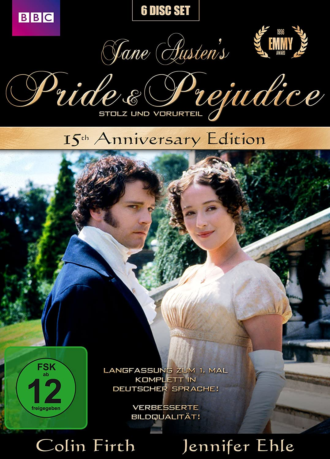 Jane Austens Pride Prejudice 15th Anniversary Edition 6 Dvds