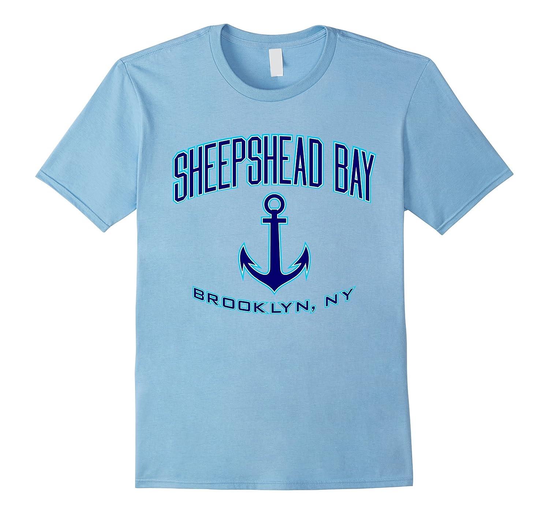 Amazon Sheepshead Bay Brooklyn Ny T Shirt Blueaqua Clothing