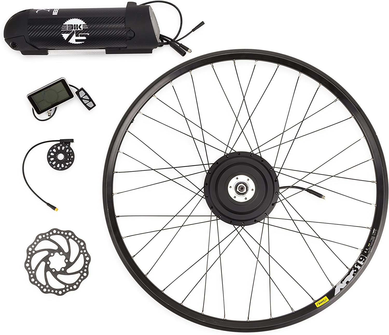eBike75 01030101 Kit de Conversión a Bicicleta Eléctrica, Unisex Adulto, Negro, 26