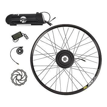 """eBike75 01020101 Kit de Conversión a Bicicleta Eléctrica, Unisex Adulto, Negro, 27.5"""""""