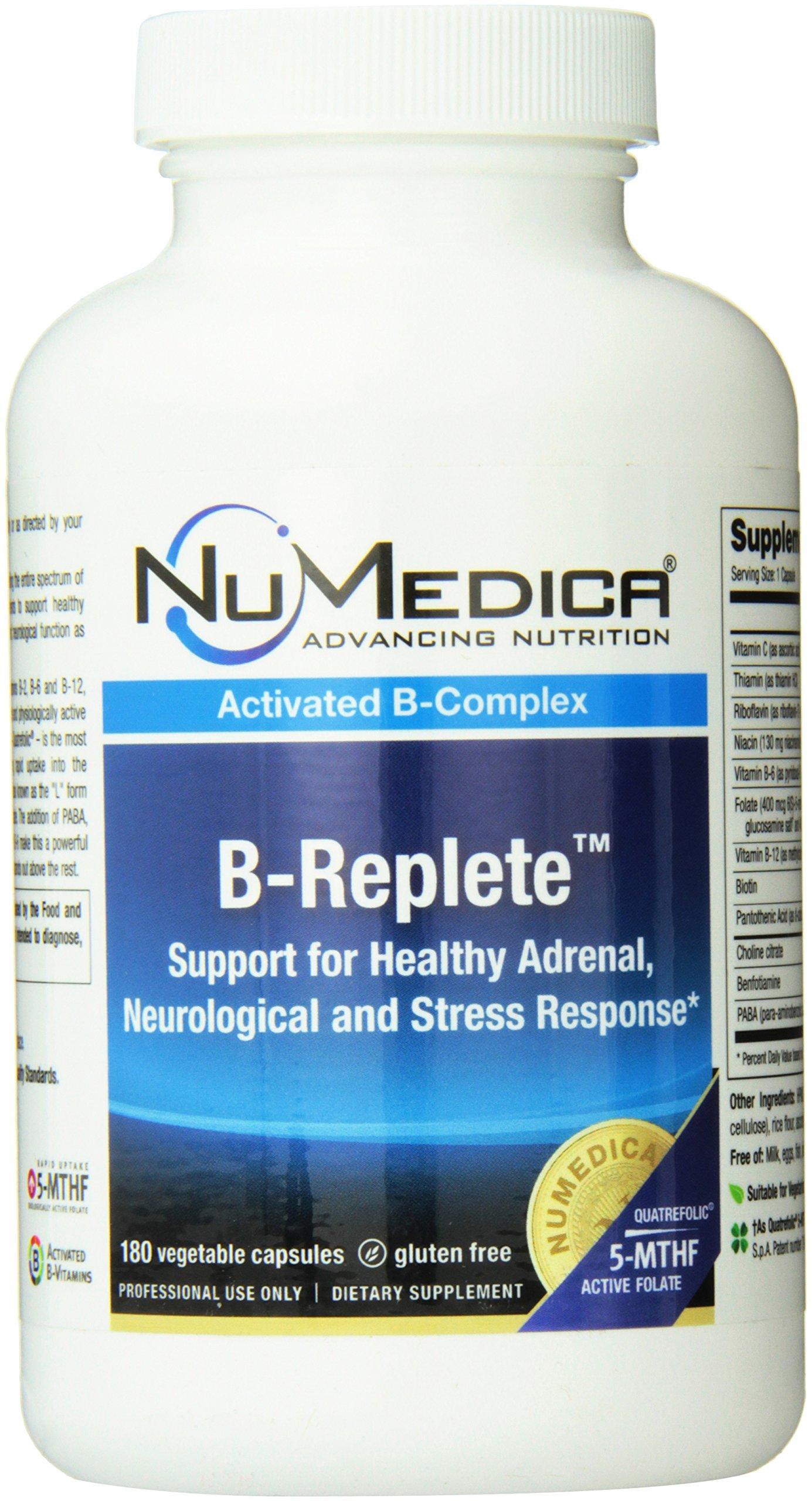 NuMedica B-Replete Supplement 180 Vegetable Capsules