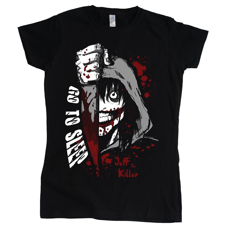 Stooble Womens's Jeff The Killer T-Shirt Stooble - 1ClickPrint