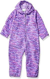 Columbia Baby Tiny Bear II Bunting 18//24 purple dahlia//wild salmon
