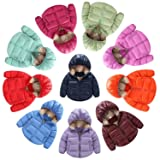 Infant and Toddler Baby Boys Girls Outerwear Hooded