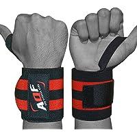 "AQF Super Heavy Duty Wrist Wraps Supports Wrist Straps Gym Training Fist Strap 13"""
