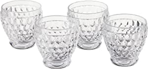 Boston Clear Shot Glass Set of 4 by Villeroy & Boch - 2.5 Ounce