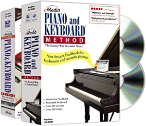 eMedia Piano and Keyboard Method Deluxe v3 (2 volume set) - Learn at Home