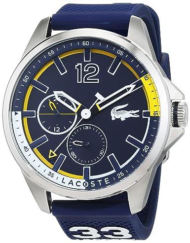 Lacoste 2010897 - Reloj de pulsera analógico para hombre: Lacoste: Amazon.es: Relojes