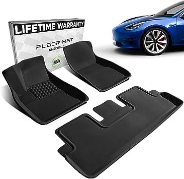 Custom Car Mats Fit for Tesla Model 3 2017-2019 Models All Weather Floor Mats