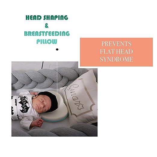 Amazon.com: Almohada de apoyo para la cabeza del bebé y el ...