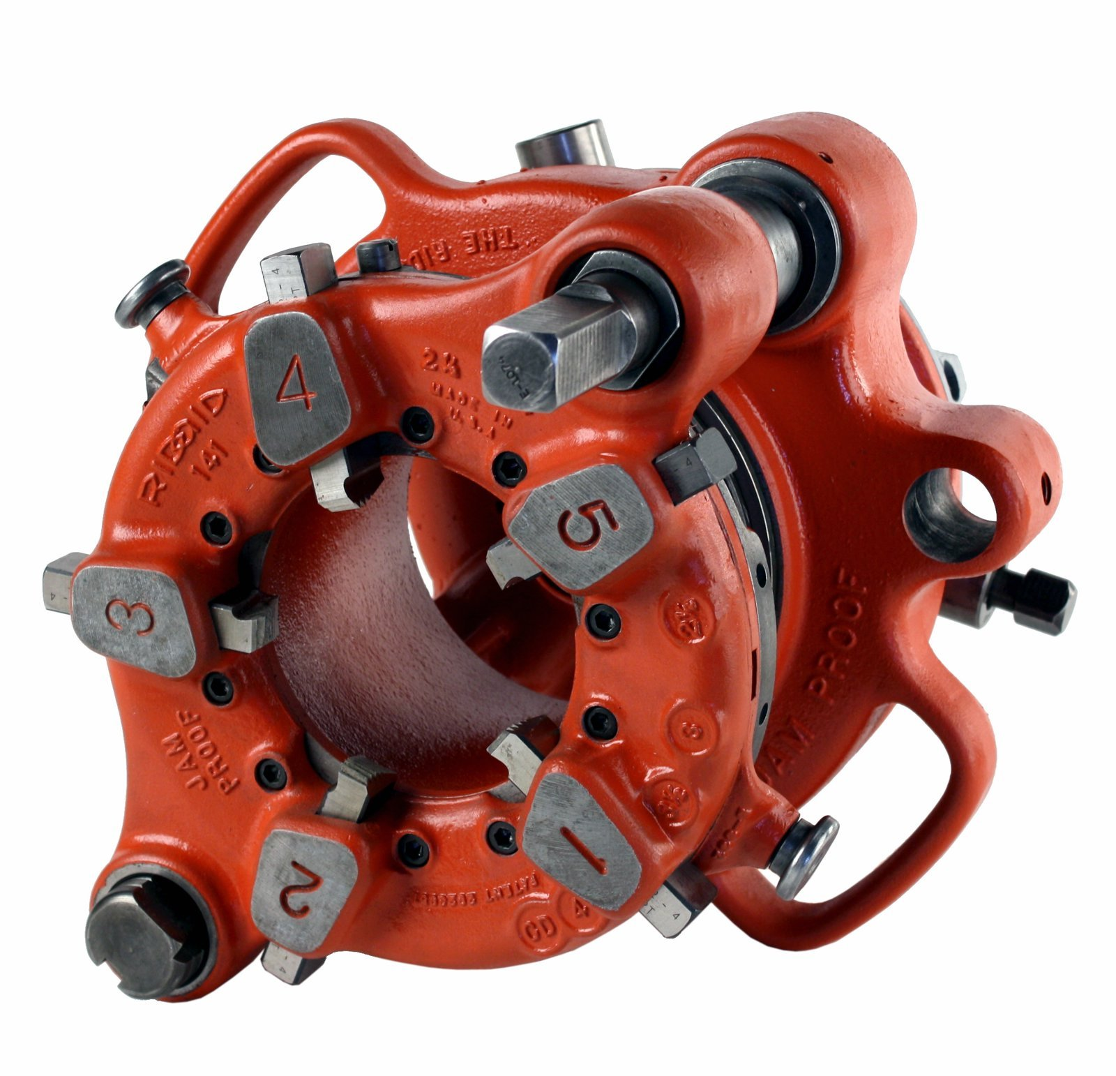 RIDGID 36620 141 Geared Pipe Threader Threading Machine (Renewed)