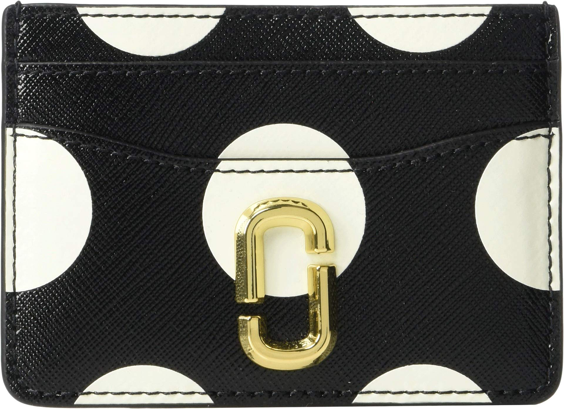Marc Jacobs Women's Snapshot Card Case, Black Multi, One Size