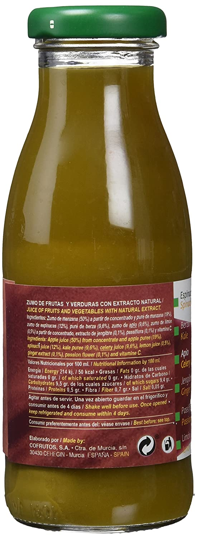 Cofrutos Zumo de Fruta Y Verduras - Paquete de 12 x 250 ml - Total ...
