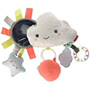 Skip Hop Silver Lining Cloud Stroller Bar Activity Toy, Multi