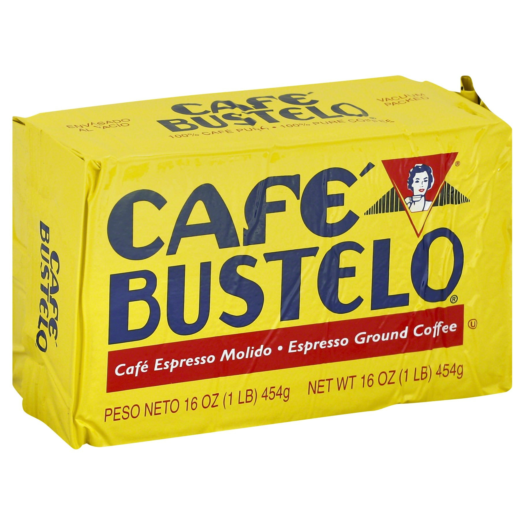 Cafe Bustelo Espresso Coffee, 16 Ounce (Pack of 12) by Café Bustelo