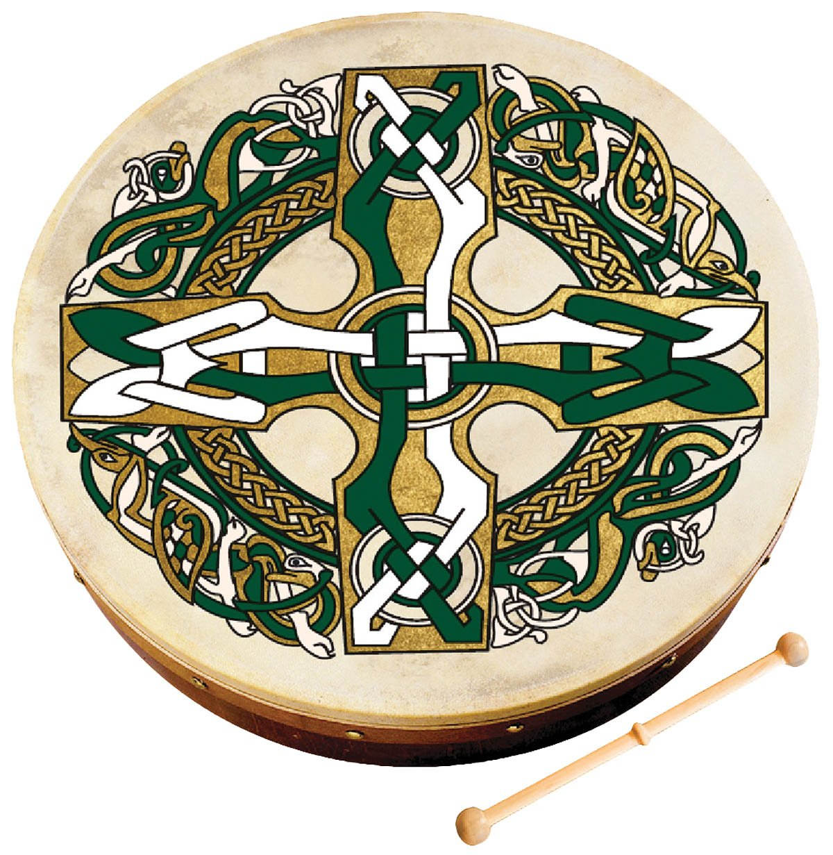 Waltons WM1953 8-Inch Celtic Cross Bodhran by Waltons