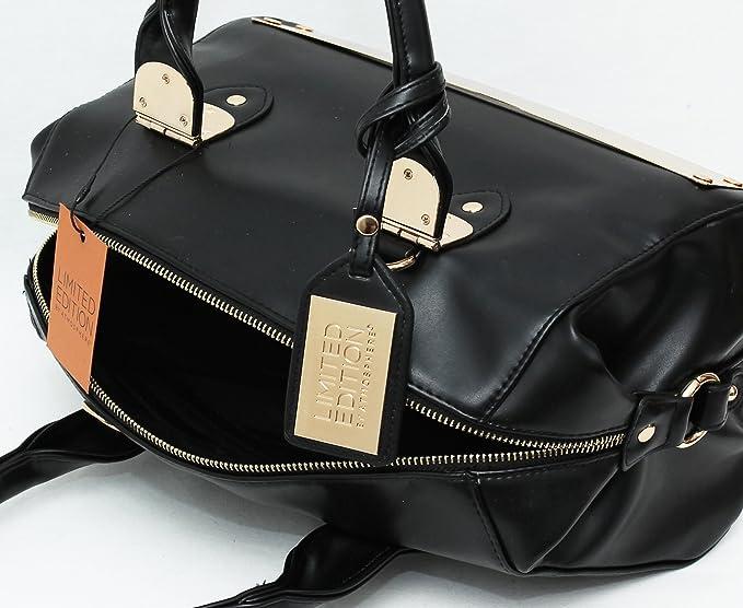 Primark - Bolso de tela para mujer negro negro XL: Amazon.es: Ropa y accesorios