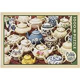 COBBLE HILL Teapots Jigsaw Puzzle (1000 Piece)
