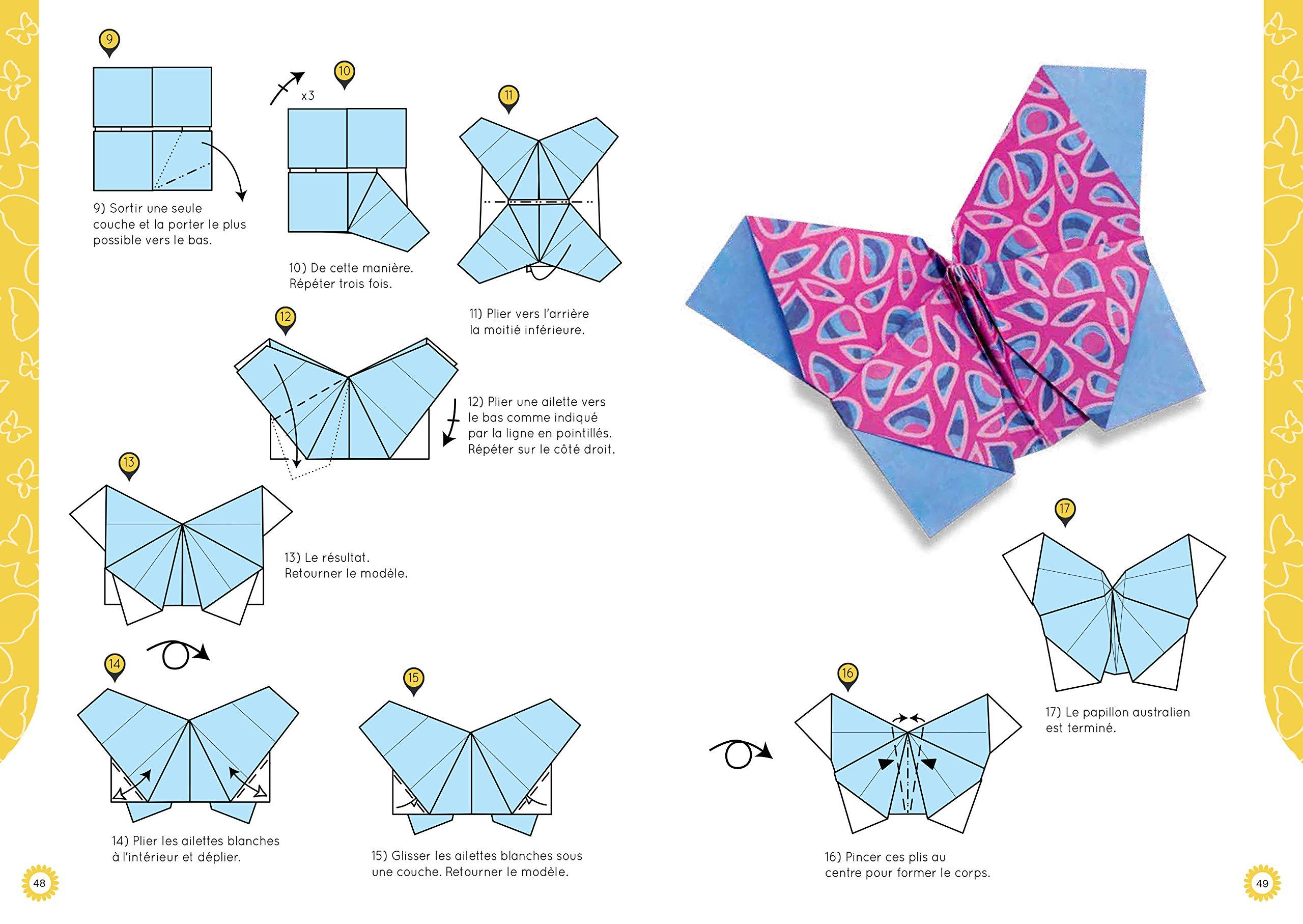 Papillons En Origami Amazonca Nick Robinson Books