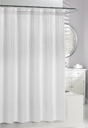 Kassatex SRS 115 W Rhinestone Shower Curtain