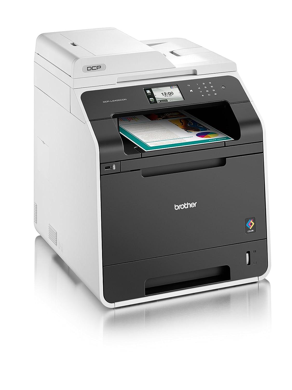 Brother DCP-L8400CDN - Impresora multifunción láser color + Pack de 4 tóners TN321