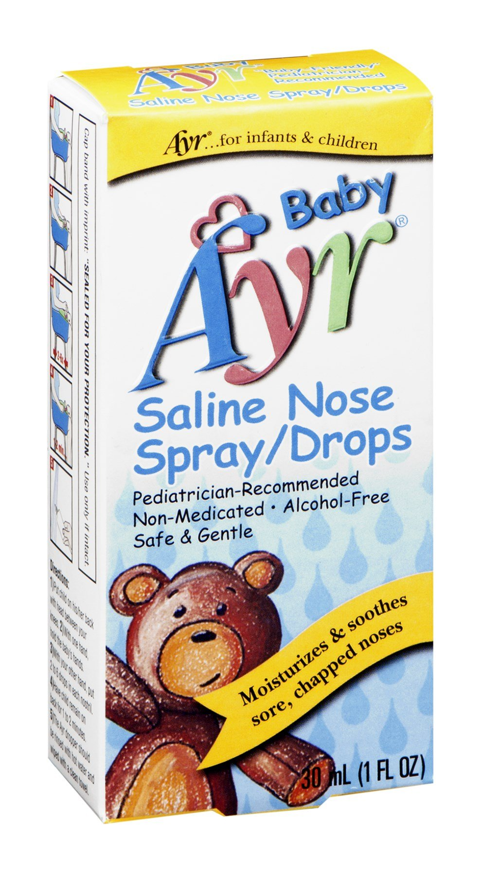 Ayr Baby Saline Nose Spray
