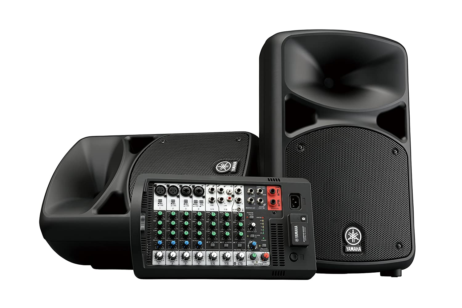 Amazon.com: Yamaha STAGEPAS 600BT Portable PA System with Bluetooth: Musical Instruments