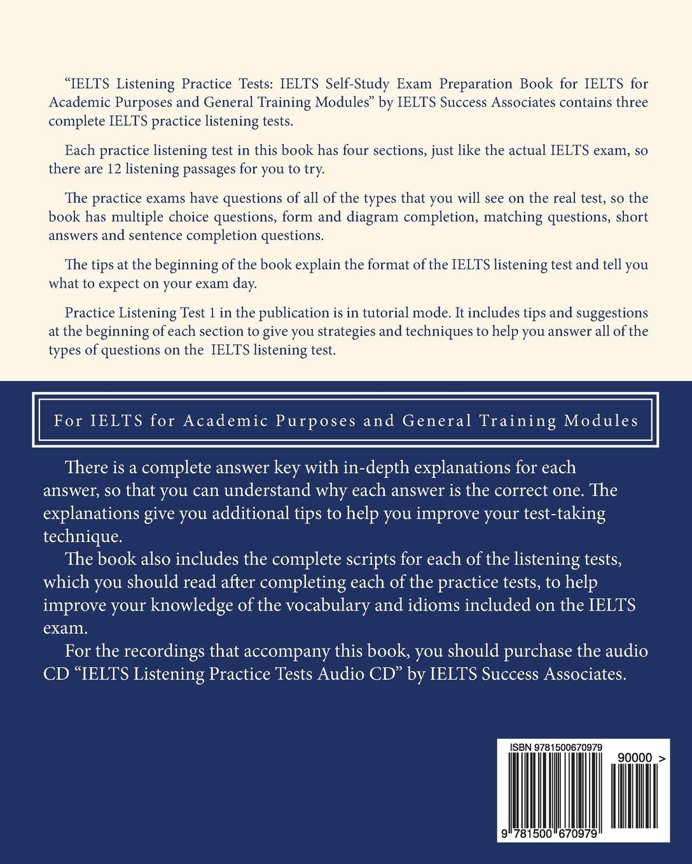 IELTS Listening Practice Tests - IELTS Self-Study Exam Preparation