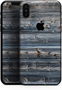 Vertical Planks of Wood - Design Skinz Premium Skin Decal Wrap for The iPhone 5s or SE