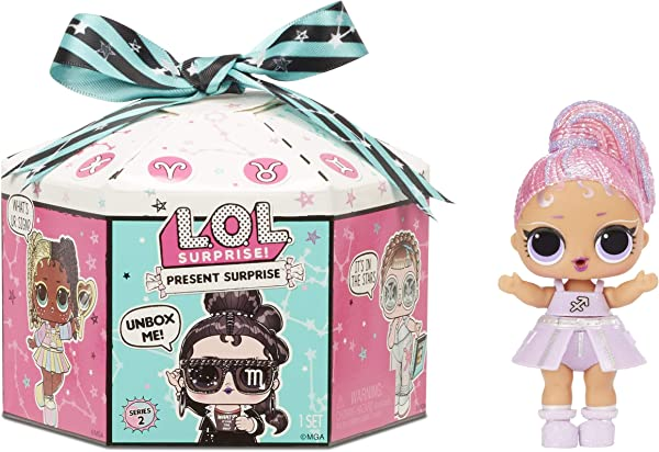 L.O.L. Surprise! Present Surprise Series 2 collectible surprise toy for kids in package