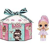 LOL Surpise Present Surprise - Muñeca con Purpurina Tema Zodiaco y 8 Sorpresa, Cambios de Color y Accesorios de Moda…