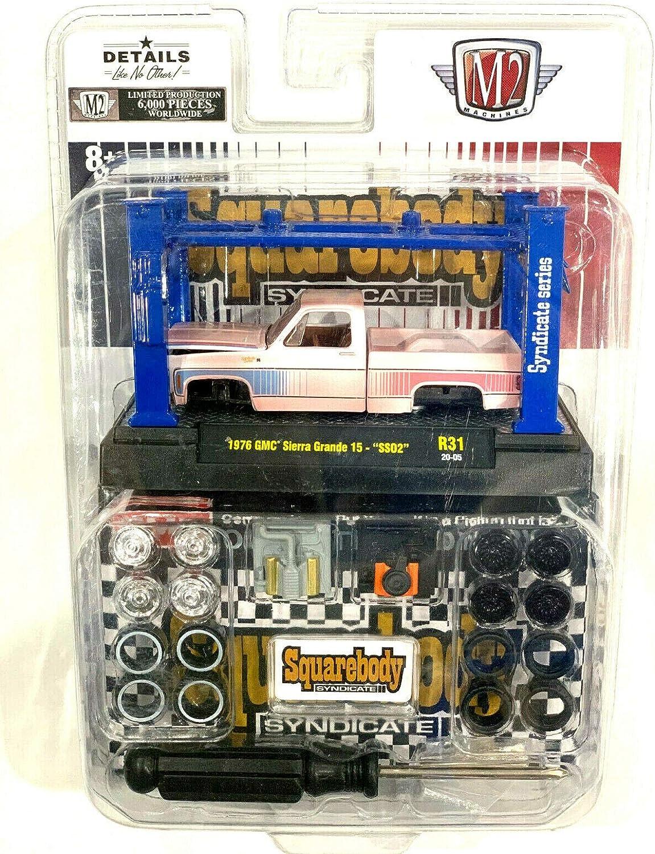 m2 machines squarebody set