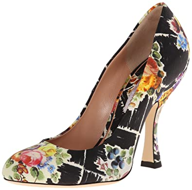 22bc7b35109 Vivienne Westwood Women's Almond Toe Court Slide Pump, Multicolor, 5 ...