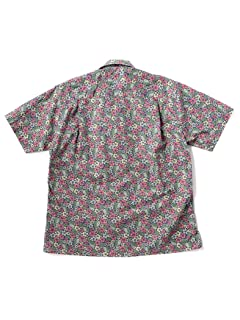 Hibiscus Camp Shirt 111-51-2850: Red