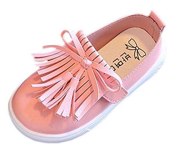 90a34b3dcec24 Iuhan Tassel Toddler Princess Sneaker Fringe Single Shoes Girls Soft Flat  Sandals
