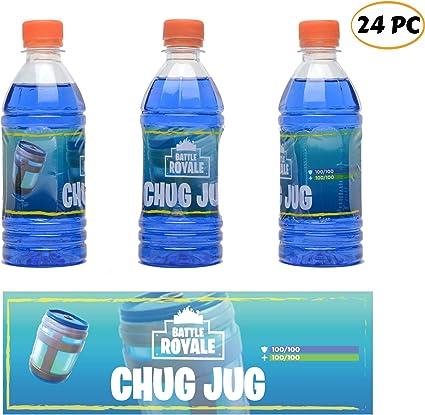 Ecorn Chug Jug Bottle Labels 16 Pack Bottles Not Included Heat Shrinking Non-...