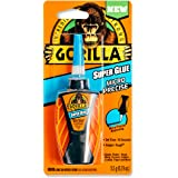 Gorilla Micro Precise Super Glue, 5,5 gram, Clear, (Pack of 1),102812