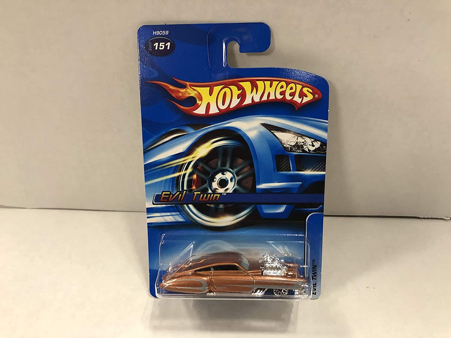 Evil Twin 2005 Hot Wheels Diecast Car No 151 At Amazon S Sports Collectibles Store