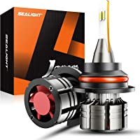 $33 » SEALIGHT 9007/HB5 LED Headlight Bulbs, 100W Super Bright LED Headlights Conversion Kit…
