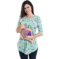 AV2 Printed Women Maternity Feeding Tunic Top 8034