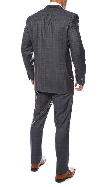 Amazon.com: Ferrecci-Zonettie traje ajustado premium para ...